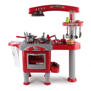 pretend role play kitchen play set toy