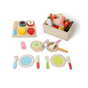 kids play set fruit vegetable