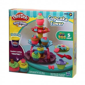 Play-Doh Sweet Shoppe Cupcake Tower Play Set
