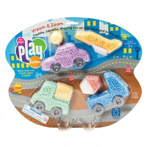 Playfoam Vroom & Zoom Themed Set mould