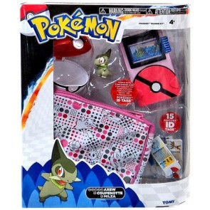 Tomy Pokemon Pokedex Trainer Kit with Axew Figure Girl