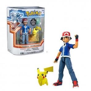 Ash Ketchum pikachu figure pokemon xy