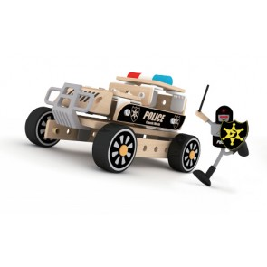 police car toy classic world