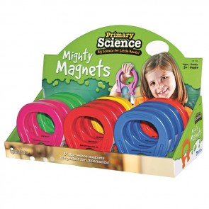 Primary Science Mighty Magnets Set of 12