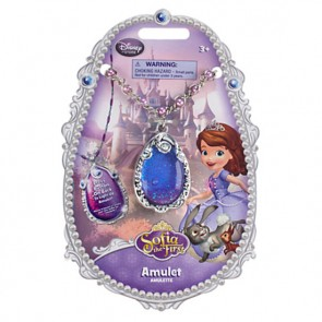 disney Sofia the first costume Necklace light up