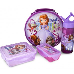 Zak! Sofia the First kids lunch set