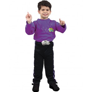THE WIGGLES - PURPLE WIGGLE LACHY Dress Up Costume