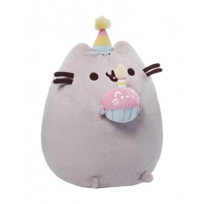pusheen plush birthday doll