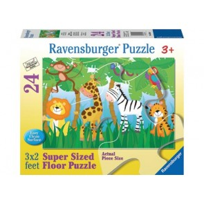 Ravensburger - Jungle Party SuperSize Puzzle 24pc