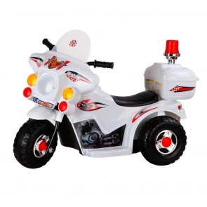 police ride on bike toy