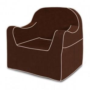Kids Reader Chair Brown p'klino
