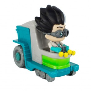 Romeo PJ Masks Wheelie Vehicle in his Lab