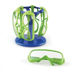 Safety Glasses With Stand Set of 6