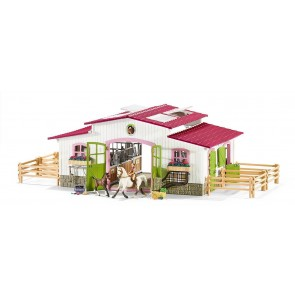 Schleich Horse Club Stable farm