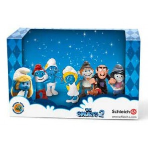 Schleich The Smurfs 2 figure Movie Set