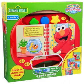 Sesame Street interactive book