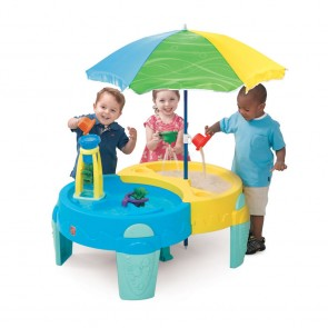 Shady Oasis Sand and Water Activity Table