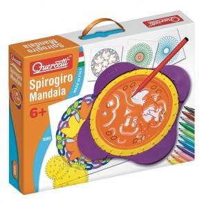 Spirogiro Mandala stencils pen