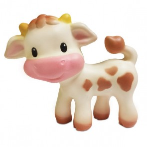 Cow Squeeze and Teether Toy