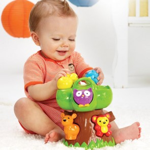 infantino forest animal baby Teethe toy