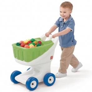step2 Little Helpers Grocery Cart - Green