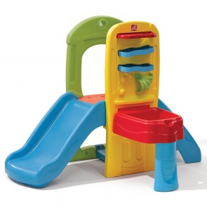 step2 children Play Ball slide Climber