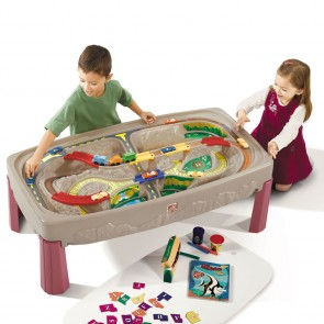 step2 Train Track Play Table