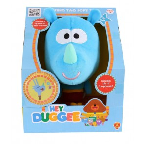 HEY DUGGEE TALKING plush tag