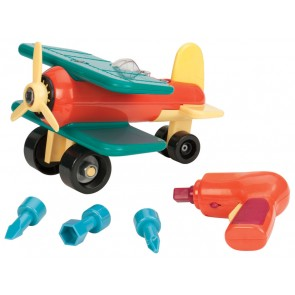 assemble ariplane toy