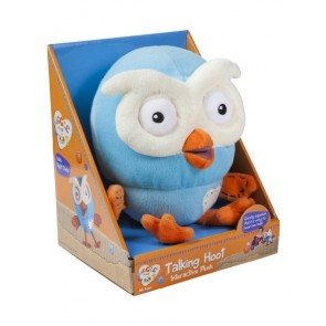 Giggle & Hoot Talking Plush Toy
