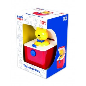 Ambi Ted Toy pop up toy