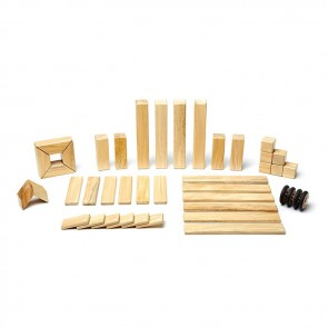 Tegu Magnetic Wooden Blocks Natural 42 Pieces