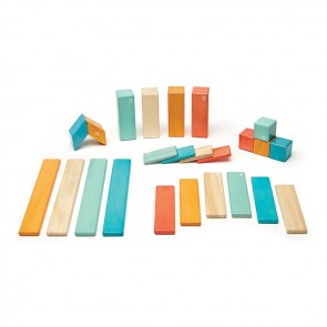 Tegu Magnetic Wooden Blocks Tegu Sunset 24 Pieces