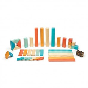 Tegu Magnetic Wooden Blocks Tegu Sunset 42 Pieces