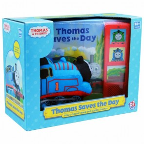 Thomas Saves the Day Book Toy Set