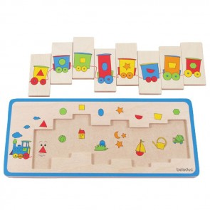Train Matching Puzzle Toy