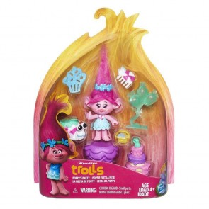 Dreamworks Trolls Town Story Pack Poppy's Party Play set