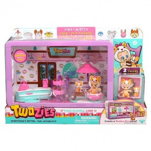 Twozies Cafe Play set Baby Pet Toy