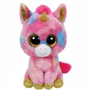 Ty Beanie Boos plush - Fantasia the Multicolour Unicorn