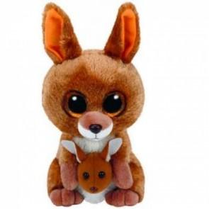 TY Beanie Boos - Kipper Brown Kangaroo - 15cm