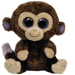 TY Beanie Boos Coconut The Brown Monkey 15cm