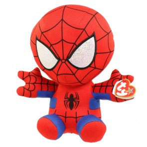 Ty Beanie Baby Spiderman Marvel