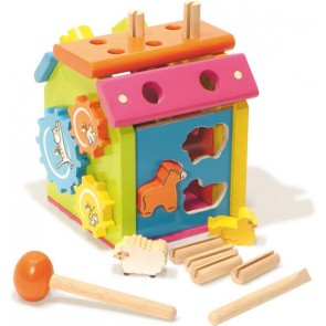 Vilac sorting puzzle animal toy