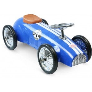 blue Ride On Car by Vilac toy