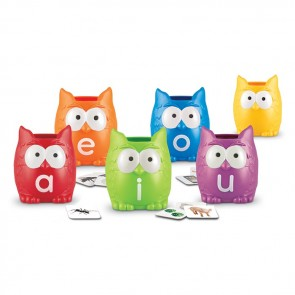 Vowel Owls Sorting learning set