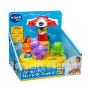 vtech animal spin round toy