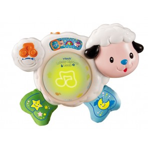 VTech Lullaby Light-Up Lamb baby cot toy