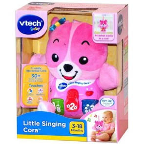 Vtech Baby Little Cora plush sing