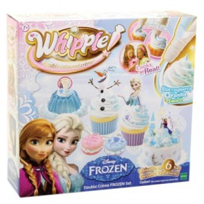 whiipple disney frozen cake decoration