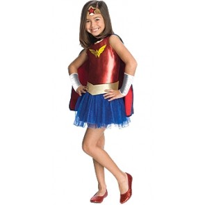 wonder woman super hero costume kids